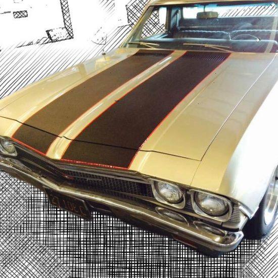 Custom Car Striping & Classic Car Restoration