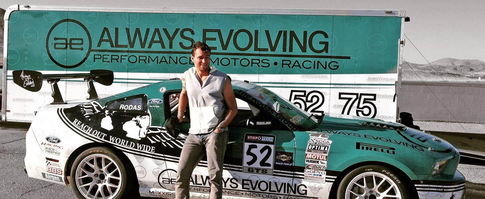 Jason Doornick - Always Evolving Racing